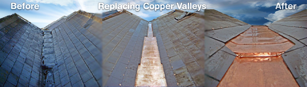 Copper Valleys Before and After