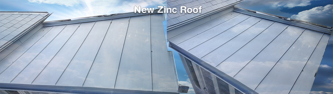 New Zinc Roofing
